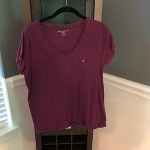 Plum Eddie Bauer T-Shirt